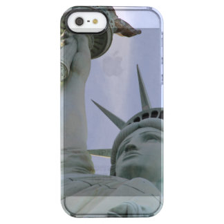 Funda Transparente Para iPhone SE/5/5s Estatua de la libertad