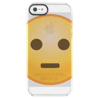Funda Transparente Para iPhone SE/5/5s Juicio de Emoji