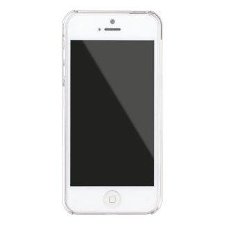 Funda Transparente Para iPhone SE/5/5s La pereza descarada