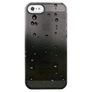 Funda Transparente Para iPhone SE/5/5s Lluvia pacífica