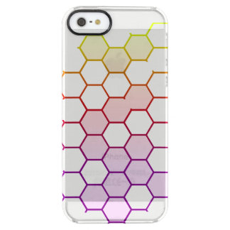 Funda Transparente Para iPhone SE/5/5s Maleficio del color en blanco