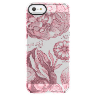 Funda Transparente Para iPhone SE/5/5s Maravillas florales del vintage