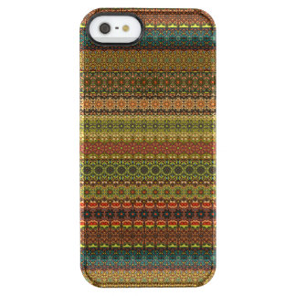 Funda Transparente Para iPhone SE/5/5s Modelo azteca tribal del vintage