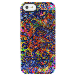 Funda Transparente Para iPhone SE/5/5s Modelo colorido lindo del chakra
