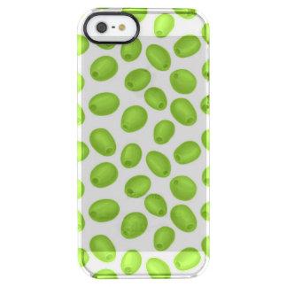 Funda Transparente Para iPhone SE/5/5s Modelo con las aceitunas verdes