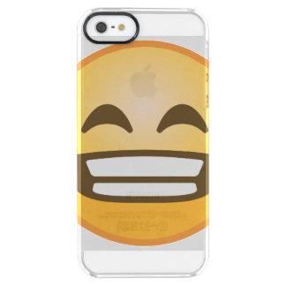 Funda Transparente Para iPhone SE/5/5s Mueca de Emoji