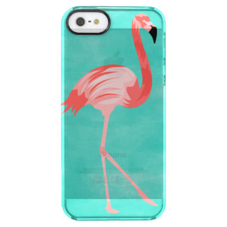 Funda Transparente Para iPhone SE/5/5s Pájaro del flamenco