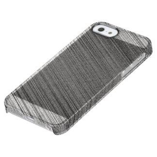Funda Transparente Para iPhone SE/5/5s Puntada del carbón de leña