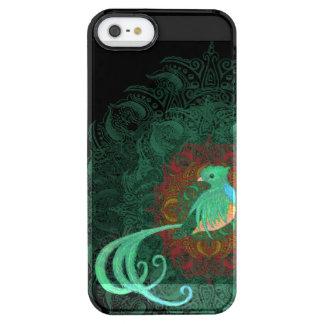 Funda Transparente Para iPhone SE/5/5s Quetzal rizado