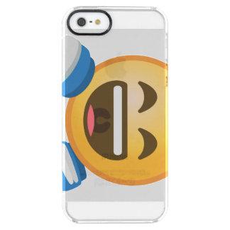 Funda Transparente Para iPhone SE/5/5s ROFL Emoji