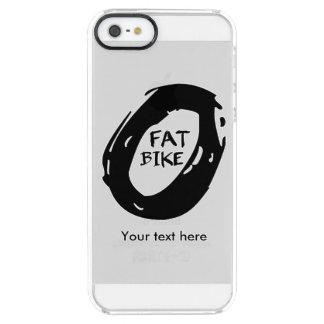 Funda Transparente Para iPhone SE/5/5s Rueda de la bici del palo