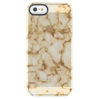 Funda Transparente Para iPhone SE/5/5s Textura de mármol elegante