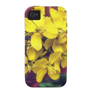 Funda Vibe iPhone 4 Flores amarillas