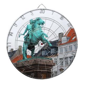 Fundador de Copenhague Absalon - Højbro Plads Diana