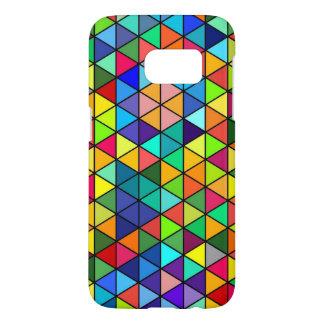 Funky Triangles S7 Funda Samsung Galaxy S7