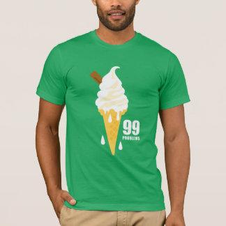 Funny bold summer icecream graphic illustration camiseta
