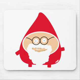 Funny Cute Papá Noel Mouse Pads