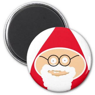 Funny Cute Papá Noel Imán