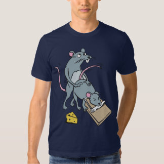Funny mouse camisetas