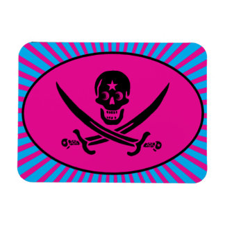 Funny Pirate Deluxe Imanes Rectangulares