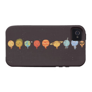 Funny planet vibe iPhone 4 fundas