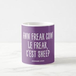 Funny typographic misheard song lyrics taza de café