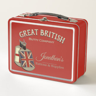 Funny Vintage Great British Butty Company
