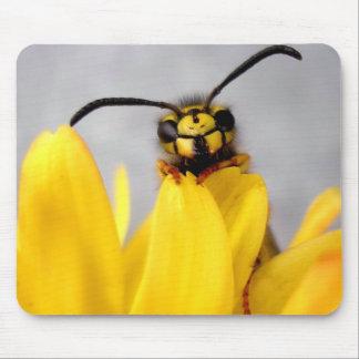 Funny Wasp Mausepads Alfombrilla De Ratón