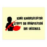Für Kinderrechte del diseño: ¡Keine Postal