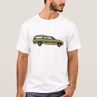 furgoneta retra camiseta