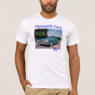 Furia 1961 de Plymouth Camiseta