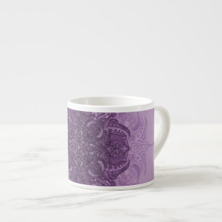 Furia de la lila Fleury Taza De Espresso