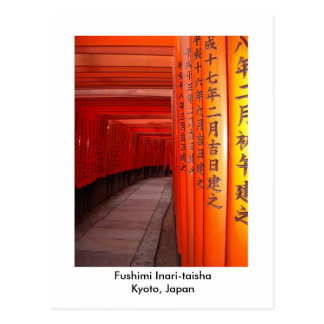 Fushimi Inari-taisha Kyoto, Japón Postal