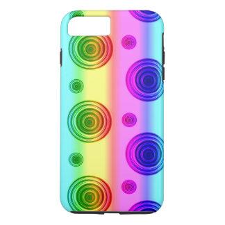 fusión color de rosa funda iPhone 7 plus