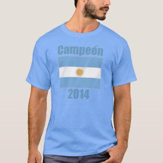 Fútbol 2014 de la Argentina Campeón Futbol Bandera Camiseta