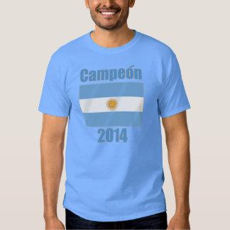 Fútbol 2014 de la Argentina Campeón Futbol Bandera Camisetas