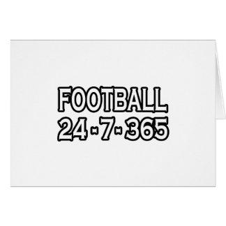 Fútbol 24-7-365 tarjetas