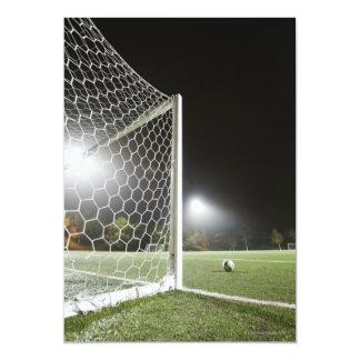 Fútbol 3 invitación 12,7 x 17,8 cm