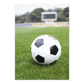 Fútbol 4 invitación 12,7 x 17,8 cm