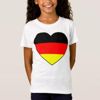Fútbol Alemania bandera de cardíaco A buen precio Camiseta