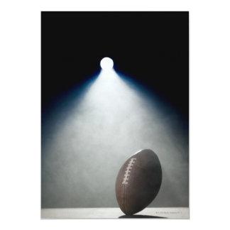 Fútbol americano 2 invitación 12,7 x 17,8 cm