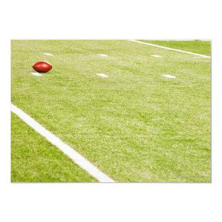 Fútbol americano 3 invitación 12,7 x 17,8 cm