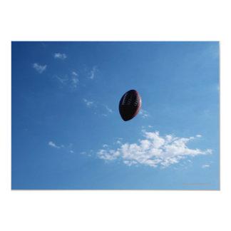 Fútbol americano 4 invitación 12,7 x 17,8 cm