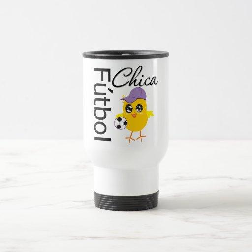 Fútbol Chica Tazas De Café