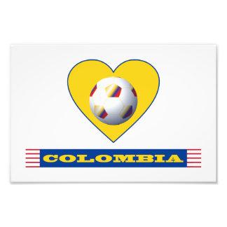 FÚTBOL COLOMBIA Corazón Amarillo National Team Fotografía