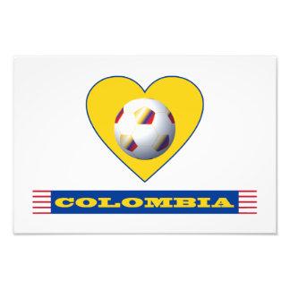 FÚTBOL COLOMBIA Corazón Amarillo National Team Fotografias