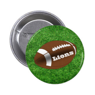 Fútbol con nombre en fútbol chapa redonda de 5 cm