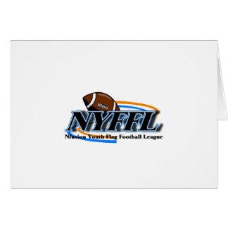 Fútbol de bandera de la juventud de Nfusion Nyffl  Tarjeta De Felicitación