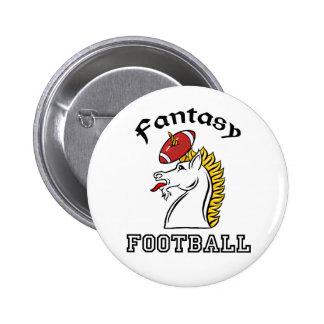 Fútbol de la fantasía pin