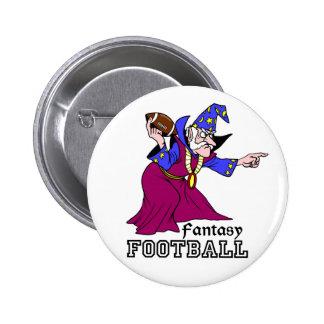 Fútbol de la fantasía pins